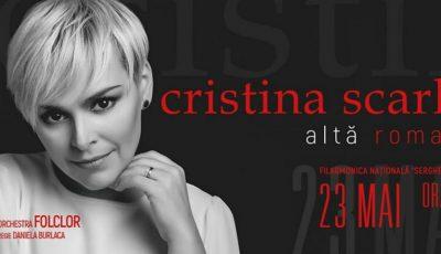 """Cristina Scarlat-Gîrlă vă invită la concertul ,,Altă romanță""""!"""