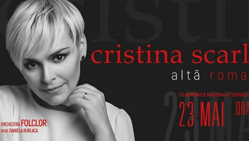 """Foto: Cristina Scarlat-Gîrlă vă invită la concertul ,,Altă romanță""""!"""
