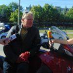 Foto: Un dirijor austriac a parcurs peste 1000 km cu motocicleta pentru a participa la un festival din Moldova