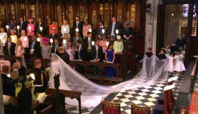 Vezi fotografia care a devenit virală, la nunta Prințului Harry cu Meghan Markle