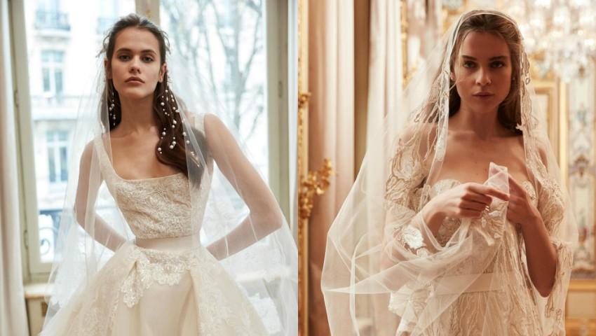 Foto: Designerul Elie Saab a lansat o nouă colecție de rochii de mireasă. Foto