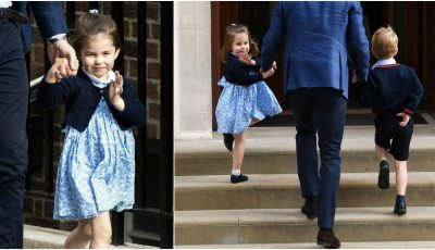 Prințesa Charlotte împlinește astăzi vârsta de 3 ani!
