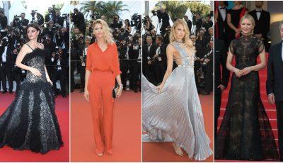 Festivalul de Film de la Cannes 2018: ce ținute au purtat vedetele pe covorul roșu