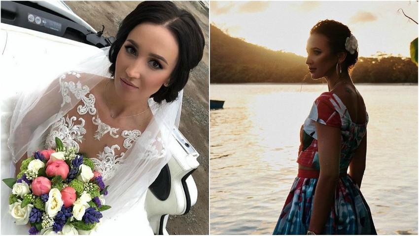 Foto: Olga Buzova a îmbrăcat rochia de mireasă. S-a căsătorit?