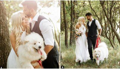 Poze! Daniela și Victor Ciocanu au realizat ședința foto de nuntă la Orheiul Vechi