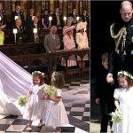 Foto: Charlotte a fost domnișoară de onoare la nunta Prințului Harry. Ce ținută a purtat Kate Middleton?