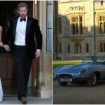 Foto: Video! Vezi ce rochie a purtat Meghan Markle la recepția privată de seară, organizată în cinstea mirilor de către Prințul Charles