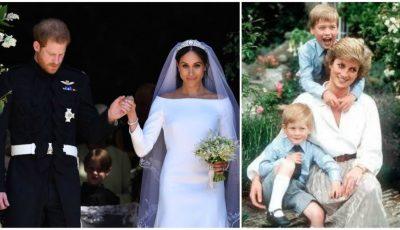 Gesturile pe care Prințul Harry le-a făcut la nuntă în memoria mamei sale, Prințesa Diana