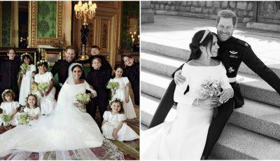 Casa regală britanică a publicat primele fotografii oficiale de la nunta Prințului Harry cu Meghan Markle