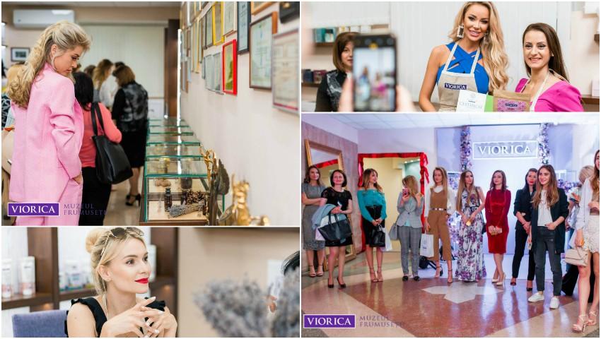 """Foto: Muzeul Frumuseţii """"Viorica Cosmetic"""" și-a deschis ușile pentru vizitatori!"""