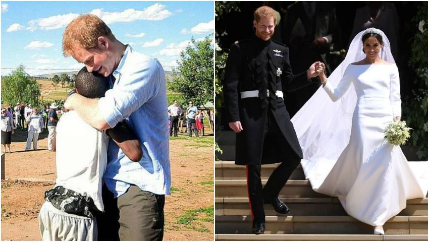 Foto: Prinţul Harry a invitat un copil orfan din Africa la nunta sa. Care a fost motivul gestului?