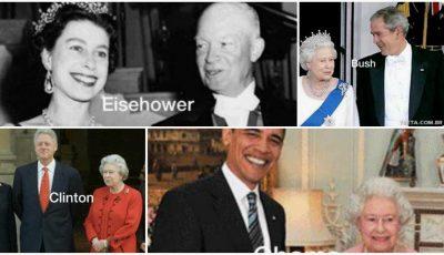 Câți președinți întrece o Regină? Răspunsul îl știe regina Elisabeta a II-a