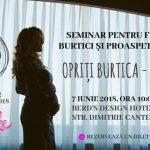 """Foto: """"Opriți burtica – eu cobor"""", un seminar util pentru femei însărcinate și proaspete mămici! Vezi cine vor fi speakerii evenimentului"""