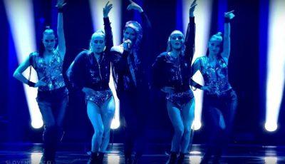 Video! Incident la Eurovision? Vezi momentul în care reprezentanta Sloveniei rămâne fără muzică