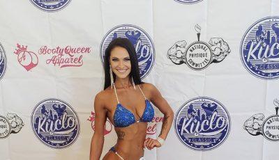 O moldoveancă a cucerit America cu frumusețea ei! Are un corp reliefat și bine conturat