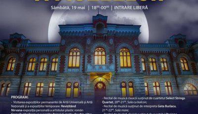 Program divers în Noaptea Europeană a Muzeelor