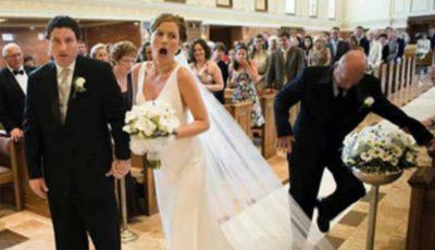 Video!!! Cele mai penibile momente de la nunți