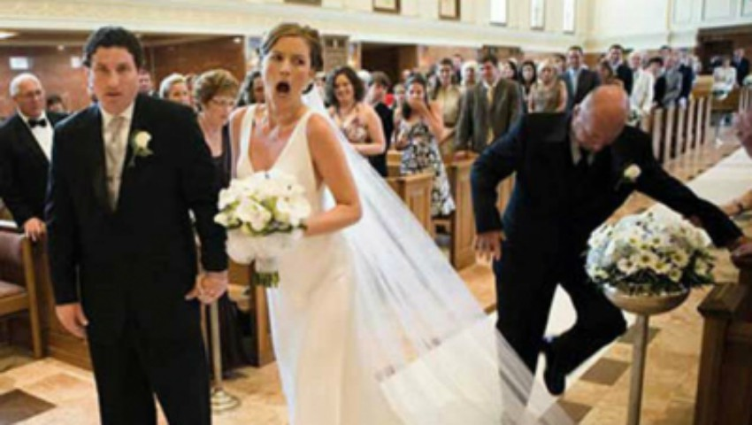 Foto: Video!!! Cele mai penibile momente de la nunți