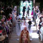 Foto: Vezi primele imagini cu Meghan Markle, în rochie de mireasă. Video live!