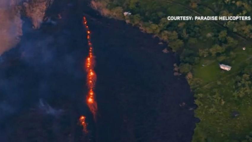 Foto: Alertă roșie în Hawaii! Risc iminent de explozie a vulcanului Kilauea