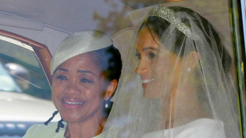 Foto: Reacția stilistei Iulia Albu referitor la mama lui Meghan, care a purtat piercing în nas la nunta fiicei sale
