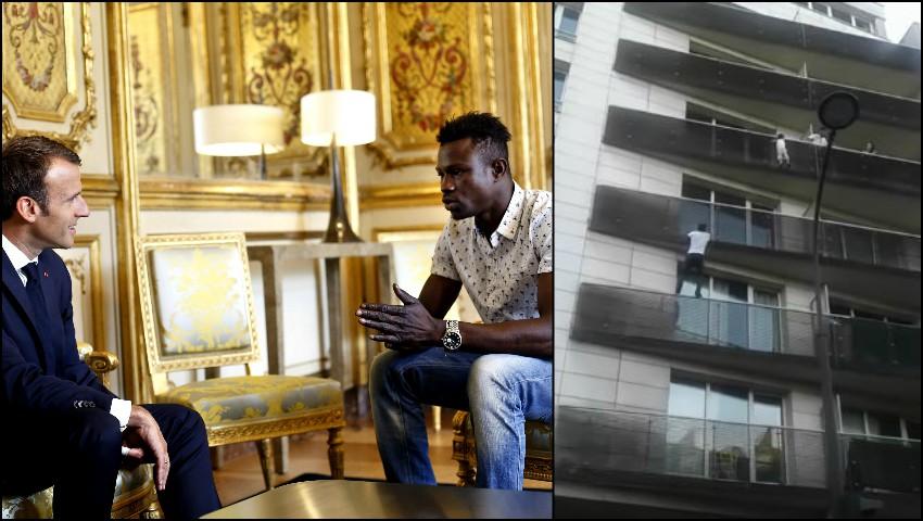 Foto: Tânărul din Africa care a salvat un copil, a devenit erou în Franța și va primi cetățenie franceză!