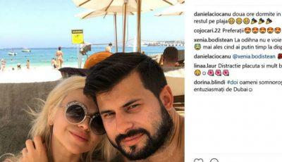 Daniela Burlac și-a schimbat numele de familie și a plecat în luna de miere
