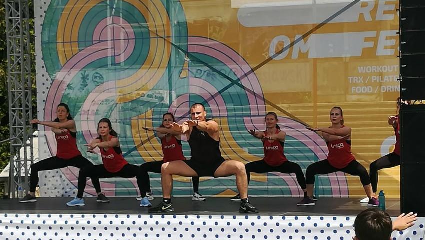 Foto: Echipa UNICA Sport a fost promotoarea modului sănătos de viață la NO Rest OM Fest 2018! Foto