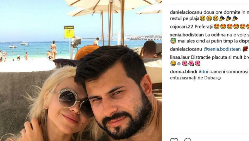 Foto: Daniela Burlac și-a schimbat numele de familie și a plecat în luna de miere
