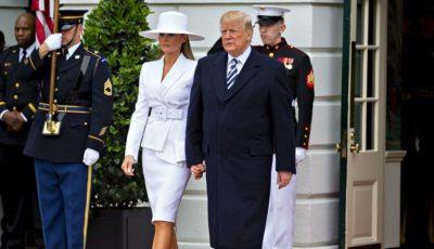 Melania Trump, mai populară decât Președintele Statelor Unite. L-a depășit în sondaje pe soțul său