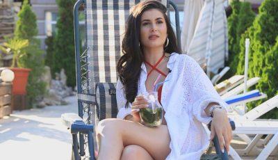 Prezentatoarea tv, Nicoleta Adam adoră aspectul ciocolățiu al pielii, iar cremele cu protecție solară nu împiedică obținerea unui bronz catifelat!