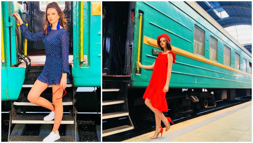 Foto: Imagini inedite, din culisele producției noului videoclip al Cleopatrei Stratan!