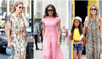 Ce rochii de vară poartă vedetele în 2018?