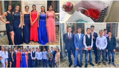 Tinerii de la Școala internat din Strășeni și-au primit ținutele pentru Balul de absolvire! Mulțumiri tuturor pentru donații