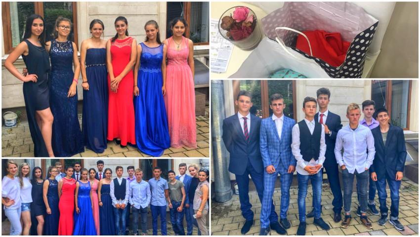Foto: Tinerii de la Școala internat din Strășeni și-au primit ținutele pentru Balul de absolvire! Mulțumiri tuturor pentru donații