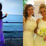 Foto: Prezentatoarea TV Svetlana Stanchevici s-a căsătorit pe malul mării. Imagini de la nuntă