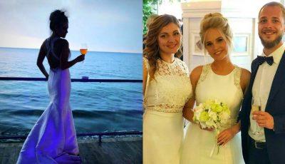 Prezentatoarea TV Svetlana Stanchevici s-a căsătorit pe malul mării. Imagini de la nuntă