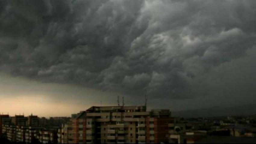 Foto: Avertisment de ultimă oră: se anunță furtuni puternice, grindină și vijelie