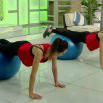 Foto: Video. Antrenament cu fitball, pe care îl poți face acasă