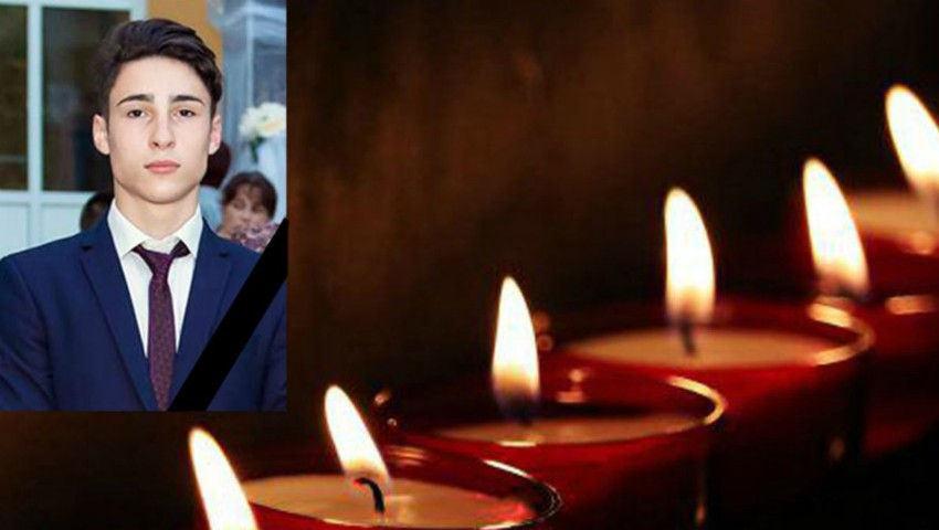 Foto: Colegii de clasă și prietenii îl deplâng pe Dan, tânărul care a fost împușcat la piscina din Hâncești