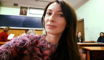 Angela Gonța a îmbrăcat o rochie pe care și-a cusut-o singură! Vezi cum arată