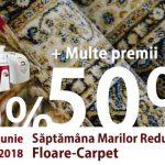 """Foto: Târg de covoare: """"Săptămâna Marilor Reduceri la Floare-Carpet """"!"""