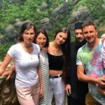 Foto: Emilian Crețu a mers pe muntele Athos, în vizită la fratele său care este călugăr