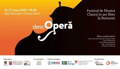 DescOPERĂ – Festivalul de muzică clasică în aer liber revine la Orheiul Vechi. Vezi programul evenimentului!