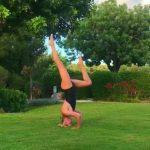 Foto: Artista din Moldova care nu renunță la gimnastică nici în vacanță! Video uimitor!