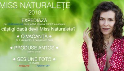 """Antos Cosmetică Naturală a dat startul celei de-a treia ediții a concursului ,,Miss Naturalețe""""!"""
