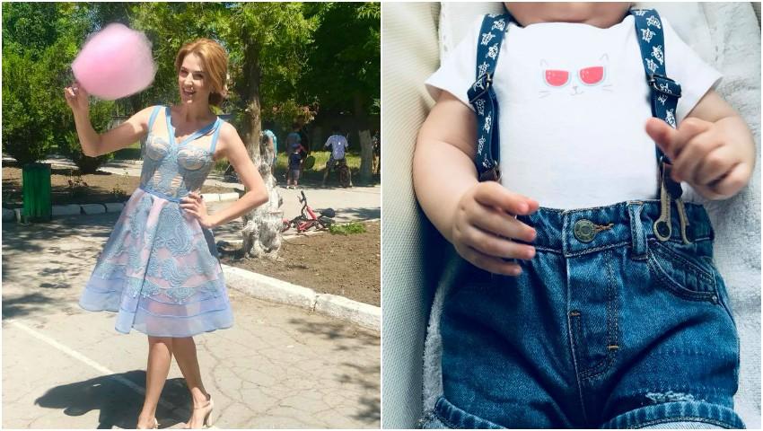 Foto: Ce mare a crescut fiul Tatianei Heghea!