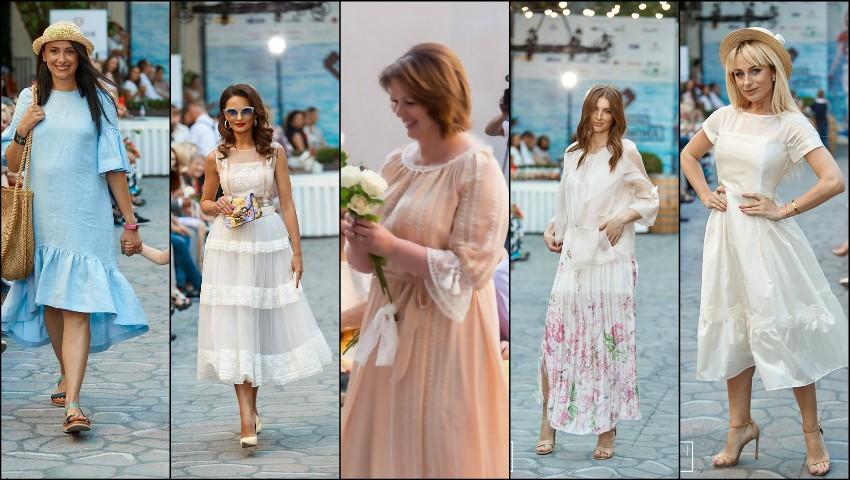 Foto: Au deschis sezonul estival! Vedetele și persoanele publice au defilat în ținutele designerilor autohtoni, la Fashion Soirée Resort Collections 2018!