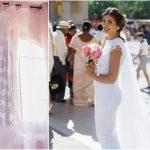 Foto: Fabulos! O tânără din Hâncești și-a croșetat singură rochia de mireasă