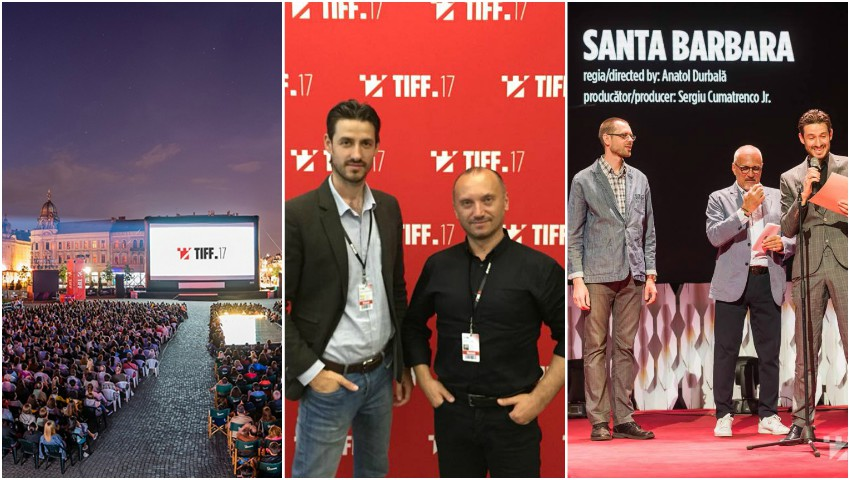 """Foto: Proiectul de film ,,Santa Barbara"""" de Anatol Durbală, a câștigat premiul de 5.000 de euro la Festivalul TIFF de la Cluj!"""